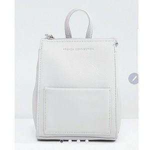 ASOS White Backpack